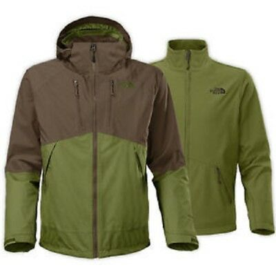 North Face Condor Triclimate Mens Green Climate Block Jacket Size XXL - North Face Condor Triclimate Jacket