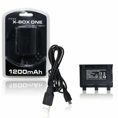 Xbox One Controller Rechargeable Battery Pack with USB Charging Cable for sale  Shipping to South Africa
