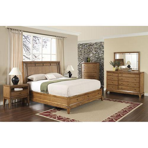King Storage Bedroom Set