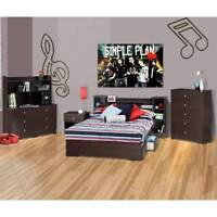 Double storage bed 54'' - $ 269.00 + taxes.