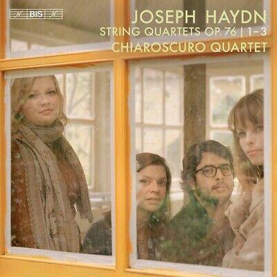 PRE-ORDER Haydn / Chiaroscuro Quartet - String Quartets 76 1-3 [SACD New]