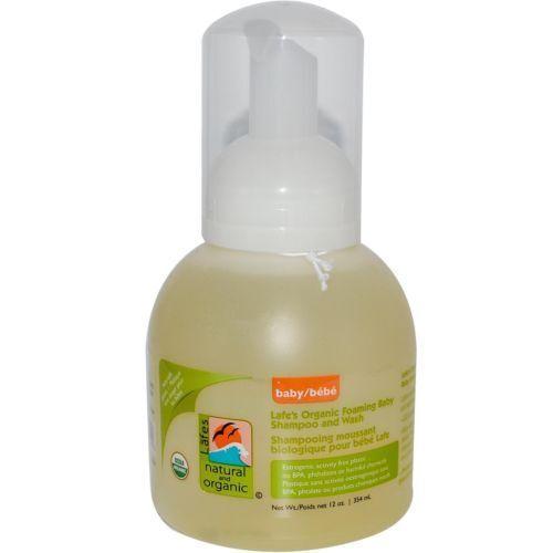 Lafes Natural Body Care Organic Foaming Shampoo & Gentlewash