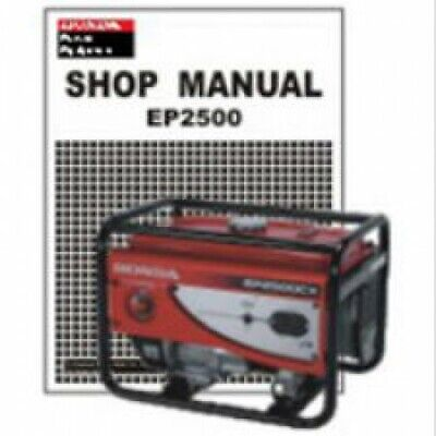 Honda EP2500CX Generator Shop Manual : 61Z1500E2, used for sale  Shipping to South Africa