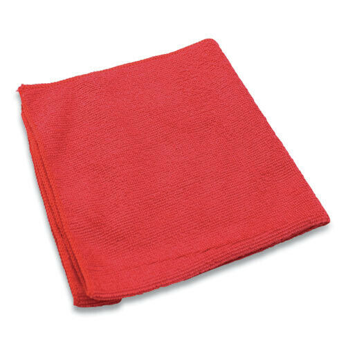 "Impact LFK451 240/CT 16""x16"" Lightweight Microfiber Cloths - Red New"