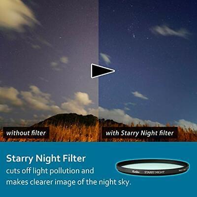 как выглядит Kenko Starry Night Wide Angle Slim Ring 55mm Light Pollution Reduc... from Japan фото