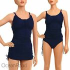 Nylon Plus Size Tankini Swimwear for Women