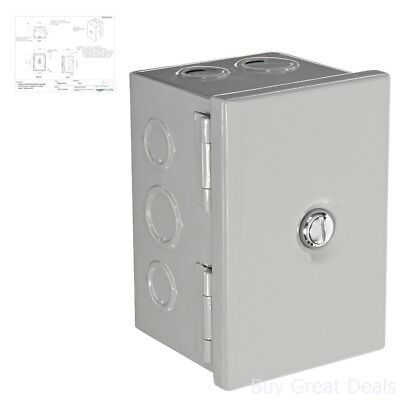Bud Nema Sheet Electrical Enclosure Metal Outlet Box Junction Hinge Cover