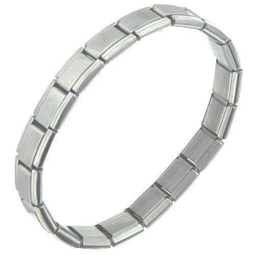 Stainless Steel Bracelet Italian Charm