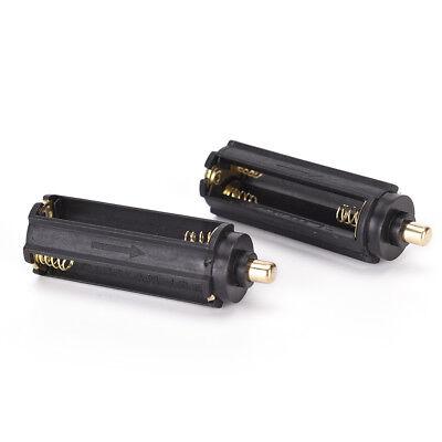 2PCS Plastical Battery Holder Box Case 3 AAA To 18650 Battery Converter  GNCA