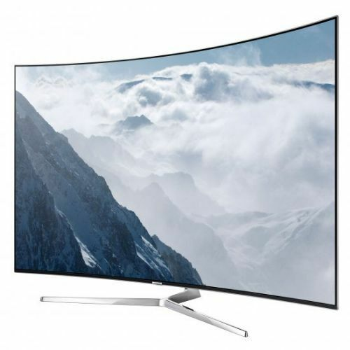 "Samsung 65"" Class (64.5"" Diag.) LED Curved 2160p Smart 4K Ultra HD TV with High Dynamic Range Black UN65KS9500FXZA"