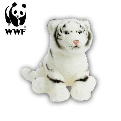 WWF Peluche Tigre Blanco (30cm) Peluche Depredador Gato Grande Animal Blandito