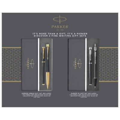 Parker Fine Writing Holiday Gift Set, 2-pack Brand new in open pack