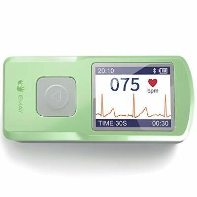 Emay Wireless Ekg Monitor Records Ecg Heart Rate Anytime Anywhere For Per...