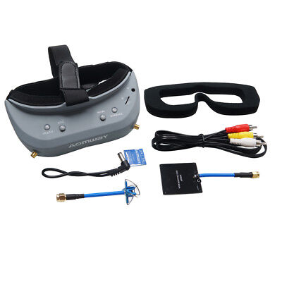 Aomway Commander V1 Diversity 3D 40CH 5.8G FPV Goggles  w/ DVR Support HDMI