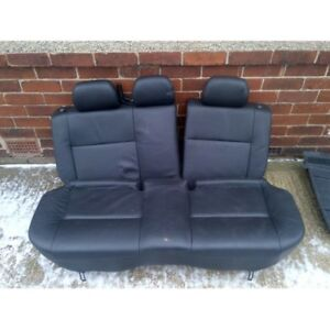 2001 Impreza Wagon Leather Back Seats