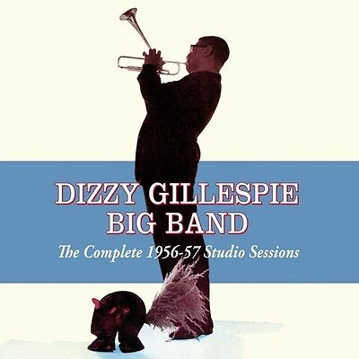Dizzy Gillespie   Complete 1956 57 Studio Sessions  New Cd  Spain   Import