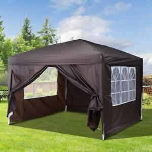 "SALE @ WWW.BETEL.CA || 10x10 ""Easy-Pop-Up"" Premium Wedding, Party Pavilion Tent 