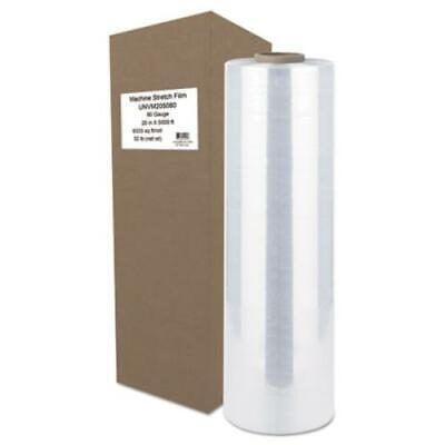 """Universal Office Products UNVM205080 Machine Stretch Film, 20"""" X 5000 Ft,"""