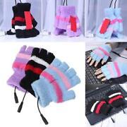 Heated Fingerless Gloves