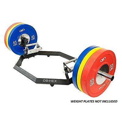 Valor Fitness Super Hex Trap Bar With Rotating Grip System OB-HEX New