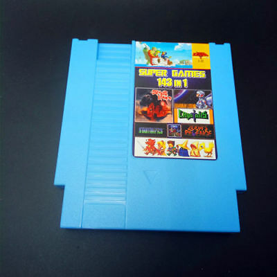 143 in 1 Game Cartridge with game Earthbound Final Fantasy 1 2 3 for sale  Shipping to Canada