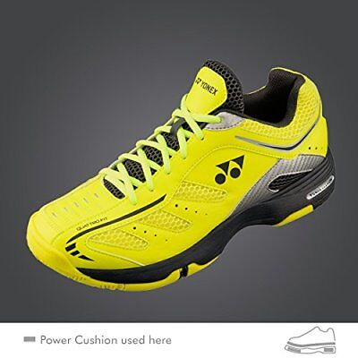 huge selection of 9bb3a 9d3b7 Yonex Pro Power Cushion Cefiro Tennis Shoes Yellow All Courts Size  8