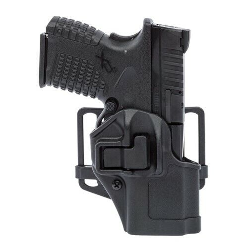 Blackhawk Black Serpa CQC Right Hand Holster w/ Paddle - Cz 75/75B/75 SP01/85B