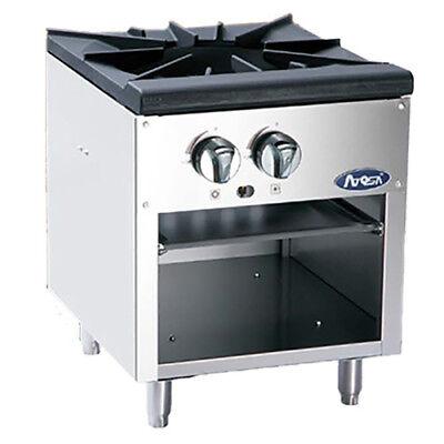 Atosa Atsp-18-1 Cookrite 3-ring Gas Stock Pot Range W Cast Iron Burner