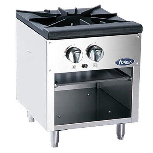 Atosa Atsp-18-1 Cookrite 3-ring Gas Stock Pot Range W/ Cast Iron Burner
