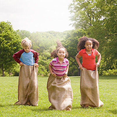 Sacks For Sack Races (Set of 3 Burlap Sacks 36