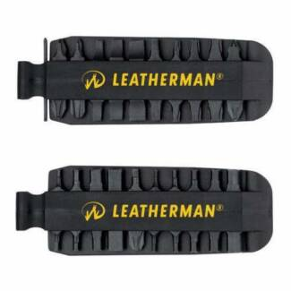 Leatherman Charge Bits and Leather Sheath Brand New