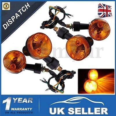 4x Amber Universal Motorcycle Motorbike Bike Turn Signal Indicator Light Bulb UK