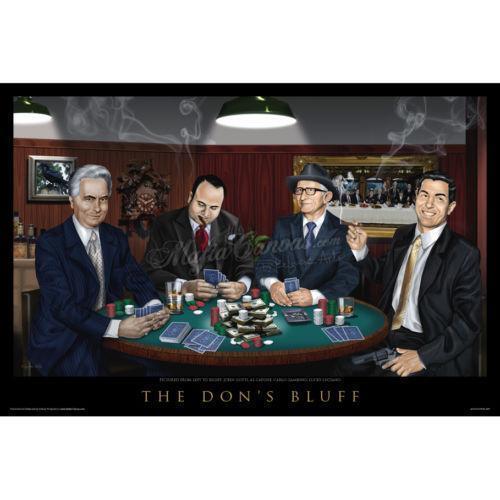 Godfather poker set