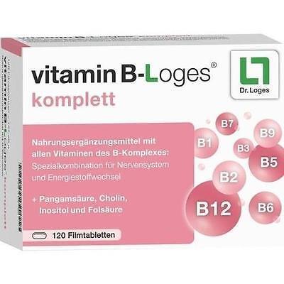 VITAMIN B-Loges komplett Filmtabletten 120 St