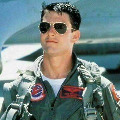 Tom Cruise Top Gun Aviator Pilot Sunglasses UV400 Personalized Tinted (Tom Cruise Top Gun Sunglasses)