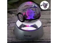 LED crystal Pokeball