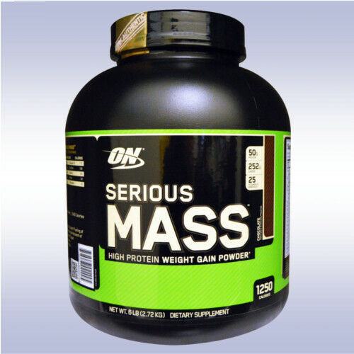 OPTIMUM NUTRITION SERIOUS MASS  weight gainer whey protein a