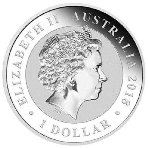 Australien 1 Dollar 2018 - Bird of Paradise - 1 Oz Silber ST