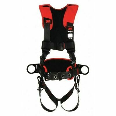 3m Protecta 1161207 Comfort Construction Style Positioning Harness Black Xl