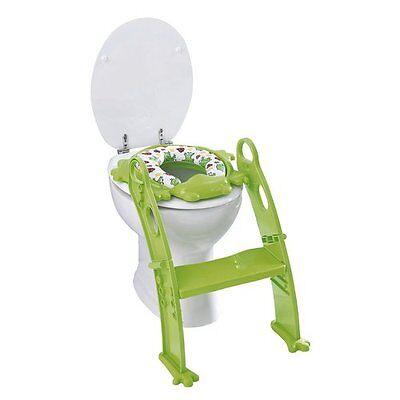 """BABY-WALZ Toiletten-Trainer """"Frosch"""" Baby-Toilette NEU grün"""