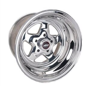2 MAGS WELD RACING 15X10 BACK SPACE 4 1/2 CHEVROLET GM