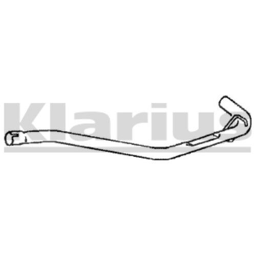 1x KLARIUS OE Quality Replacement Exhaust Pipe Exhaust For CITROËN Petrol