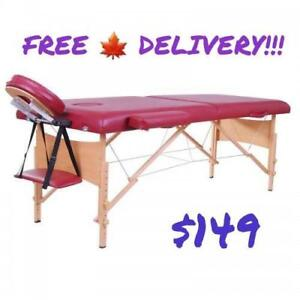 SALE @ WWW.BETEL.CA || FREE DELIVERY || Premium Massage Reiki Esthetics Table Bed with Accessories || We Deliver FREE!!