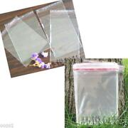 Self Sealing Clear Poly Bags