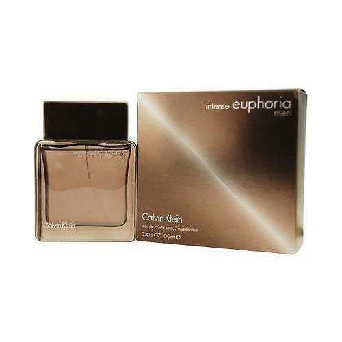 EUPHORIA INTENSE for MEN * Calvin Klein Cologne * 3.4 oz * BRAND NEW IN BOX