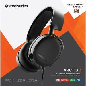 SteelSeries Arctis 3 HS00010 All-Platform Gaming Headset (Open box)