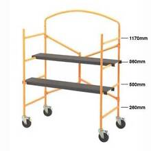 Handyman Mobile Scaffolding, Foldable, scaffold with Safety Bar Yatala Gold Coast North Preview