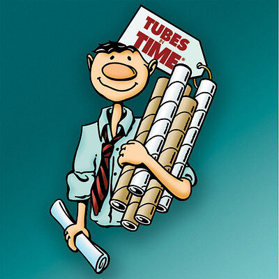 2x15 Yazoo Premium Kraft Mailing Shipping Tubes - 32ctn