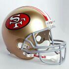 San Francisco 49ers NFL Helmets
