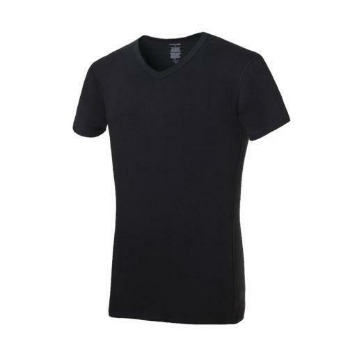 Mens cotton spandex t shirt ebay for Cotton and elastane t shirts